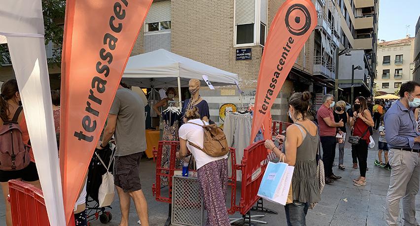 Botigues al carrer i Fora Stocks, TerrassaCentre