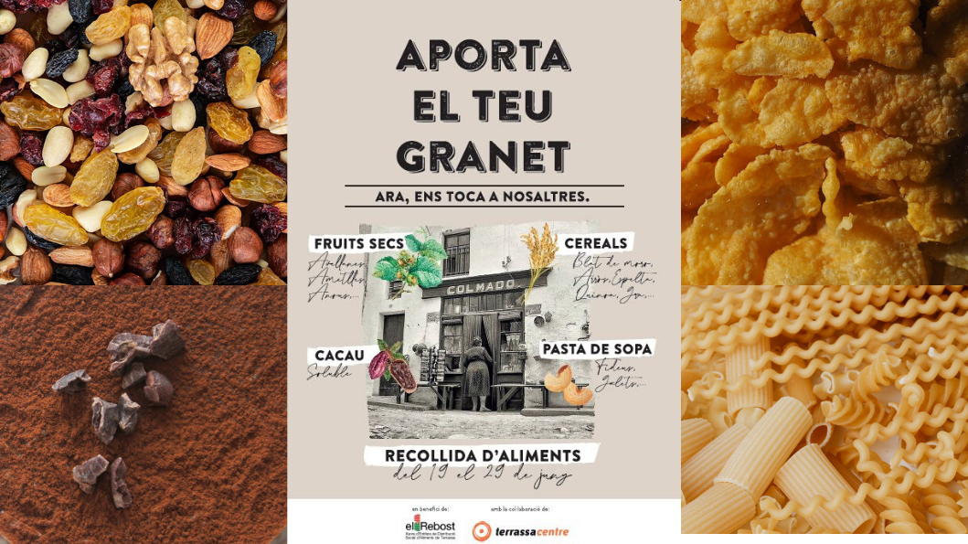 Recogida solidaria de alimentos «Aporta tu granito»