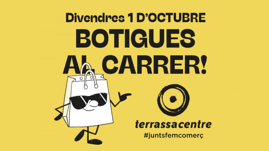 Botigues al carrer 1 Octubre